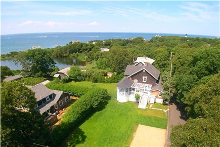 Oak Bluffs, East Chop Martha's Vineyard vacation rental - Large private house close to beach