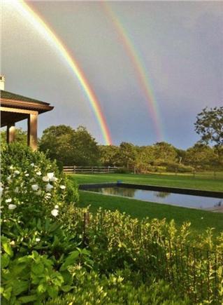 Edgartown Martha's Vineyard vacation rental - Swimming under the rainbow.