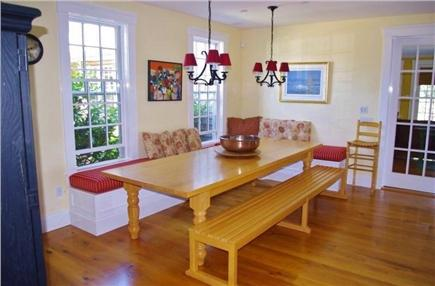 Edgartown Martha's Vineyard vacation rental - Eat in dining area.