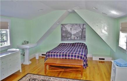 Edgartown Martha's Vineyard vacation rental - Private Queen over mudroom.