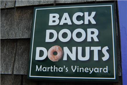 Oak Bluffs Martha's Vineyard vacation rental - Can't forget and it is a must go to Back Door Donusts !!!
