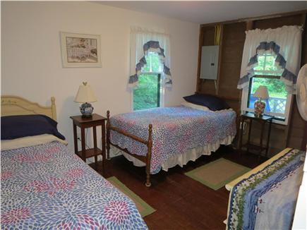 West Tisbury Martha's Vineyard vacation rental - Bedroom with Twins