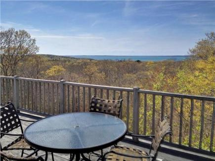 West Tisbury Martha's Vineyard vacation rental - Panoramic water view of Vineyard Sound and the Elizabeth Islands
