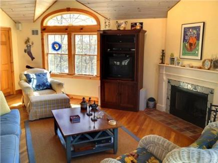 West Tisbury Martha's Vineyard vacation rental - Living room