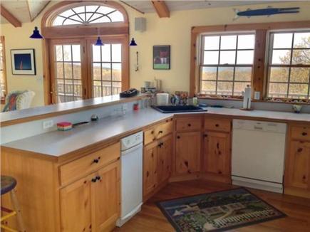 West Tisbury Martha's Vineyard vacation rental - Modern kitchen with water views