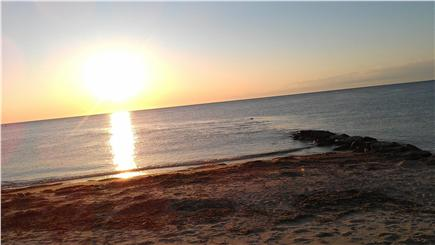 Oak Bluffs Martha's Vineyard vacation rental - Sunrise Over the Second Jetty at Inkwell Beach