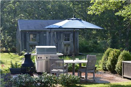 Oak Bluffs Martha's Vineyard vacation rental - View of outdoor dining. Enjoy a meal!