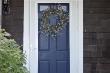 Oak Bluffs Martha's Vineyard vacation rental - Front door.