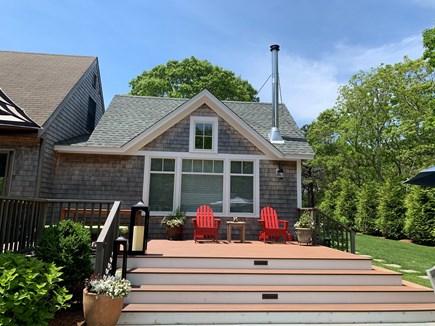 Oak Bluffs Martha's Vineyard vacation rental - Another deck view.