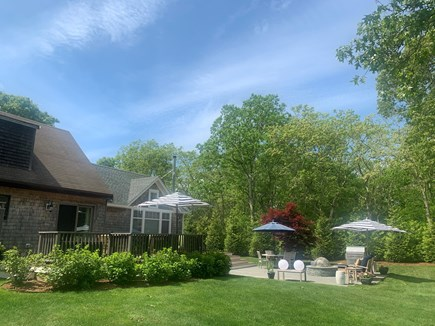 Oak Bluffs Martha's Vineyard vacation rental - Back of house. Room to relax and play!