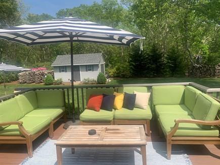 Oak Bluffs Martha's Vineyard vacation rental - Comfy Seating on Deck!