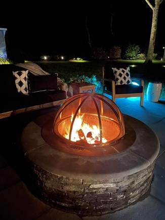Oak Bluffs Martha's Vineyard vacation rental - Enjoy S'mores and games by the fire.