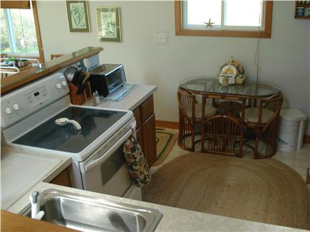 West Tisbury Martha's Vineyard vacation rental - The view of the kitchen from the landing