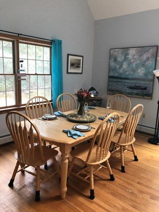 Edgartown, Dodger's Hole Martha's Vineyard vacation rental - Dining area