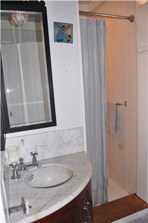 Vineyard Haven Martha's Vineyard vacation rental - Ist floor bathroom with shower.
