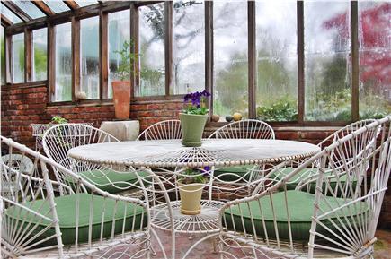 Vineyard Haven Martha's Vineyard vacation rental - Attached greenhouse