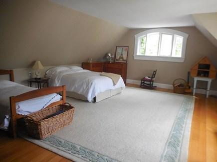 Vineyard Haven Martha's Vineyard vacation rental - 2nd bedroom w queen + twin bed. Overlooks garden.