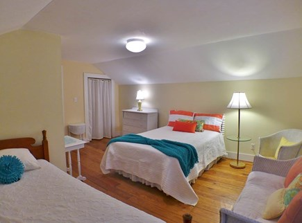 Oak Bluffs Martha's Vineyard vacation rental - Master Bedroom with Double and 1 Twin