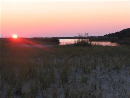 Chappaquiddick, Wasque Martha's Vineyard vacation rental - Sunset at Wasque reservation
