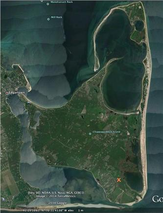 Chappaquiddick, Wasque Martha's Vineyard vacation rental - Location on Chappaquiddick