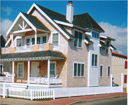Oak Bluffs Martha's Vineyard vacation rental - Walk-out 2nd floor Balcony overlooking Ocean Park & the Sound