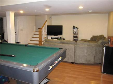 Oak Bluffs Martha's Vineyard vacation rental - Lower level recreation room with pool table and flat screen TV
