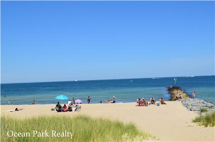 Oak Bluffs Martha's Vineyard vacation rental - Inkwell beach just across the street