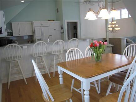 Oak Bluffs Martha's Vineyard vacation rental - Open dining kitchen area on second floor