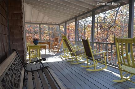 Oak Bluffs Martha's Vineyard vacation rental - Large Relaxing Wrap Around Porch for Outdoor Dining