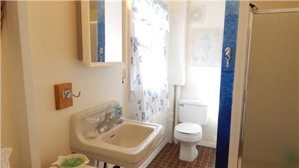 Oak Bluffs Martha's Vineyard vacation rental - Newly painted Bathroom with Shower Stall on 2nd floor