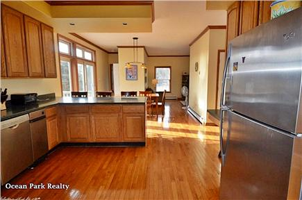 Edgartown Martha's Vineyard vacation rental - Modern Kitchen with Dining Area for 8