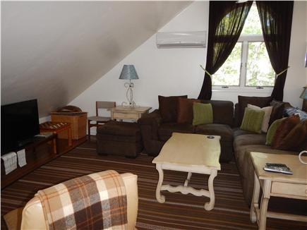 Edgartown Martha's Vineyard vacation rental - Loft TV room