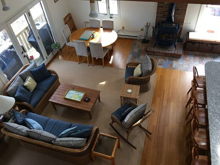 Edgartown Martha's Vineyard vacation rental - Main room view from loft