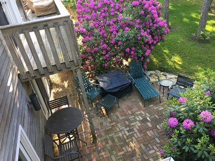 Edgartown Martha's Vineyard vacation rental - Front Yard Patio