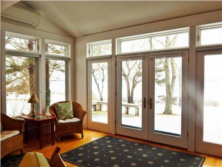Oak Bluffs Martha's Vineyard vacation rental - Light Filled Open Living Area Overlooking the Lagoon