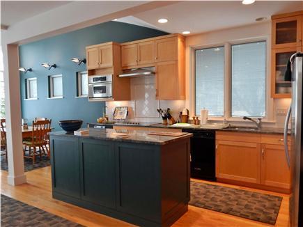 Oak Bluffs Martha's Vineyard vacation rental - Beautiful Kitchen with Open Floor Plan