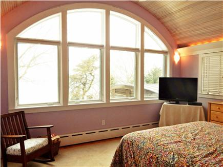 Oak Bluffs Martha's Vineyard vacation rental - Master Bedroom with Beautiful Architectural Details & Waterview