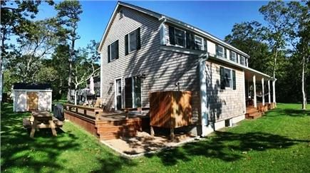 Oak Bluffs Martha's Vineyard vacation rental - Large back yard for outdoor family activities!