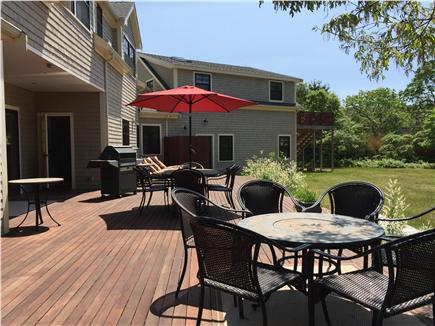 West Tisbury Martha's Vineyard vacation rental - View of suite over garage with separate entrance