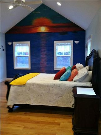 West Tisbury Martha's Vineyard vacation rental - View of master bedroom on first floor