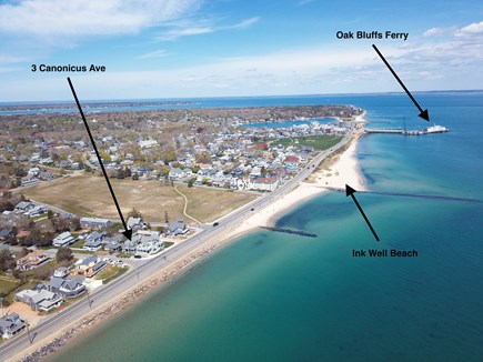 Oak Bluffs Martha's Vineyard vacation rental - Walk to the ferry or the beach.
