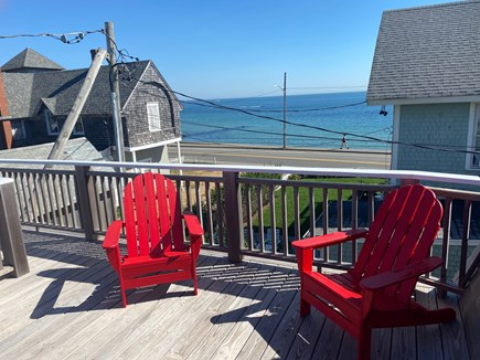 Oak Bluffs Martha's Vineyard vacation rental - Roof porch view