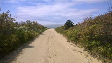 Chappaquiddick, Edgartown Martha's Vineyard vacation rental - On the way to bay beach