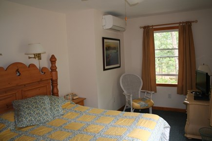 Vineyard Haven Martha's Vineyard vacation rental - Queen bed in a lovely, cozy bedroom with TV