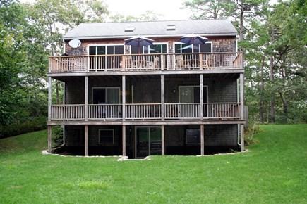 Vineyard Haven Martha's Vineyard vacation rental - Relax on the lovely decks. Walkout basement convenient for bikes