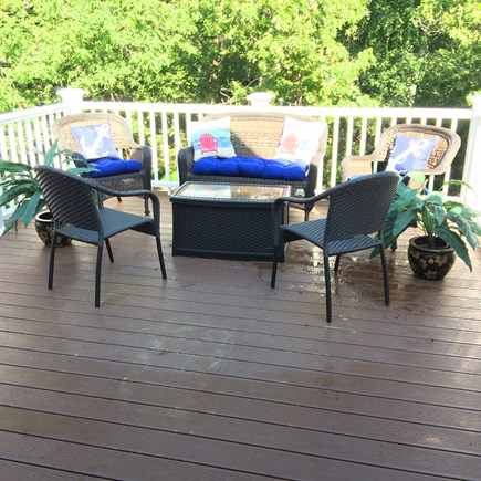 Oak Bluffs Martha's Vineyard vacation rental - Sun deck over garage added 2017