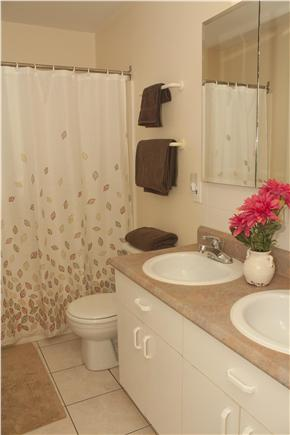 Oak Bluffs Martha's Vineyard vacation rental - The downstairs bathroom, ensuite to the 2nd master bedroom.
