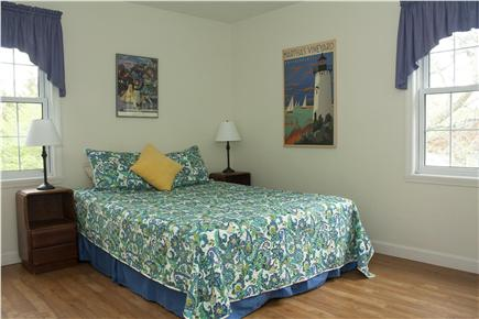 Oak Bluffs Martha's Vineyard vacation rental - The third bedroom, with queen bed and plenty of closet space.