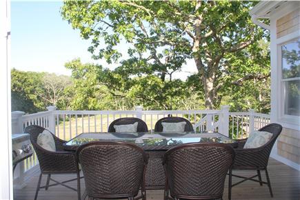 Edgartown Martha's Vineyard vacation rental - Al fresco dining room
