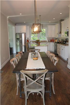 Edgartown Martha's Vineyard vacation rental - Dining area leading to kitchen
